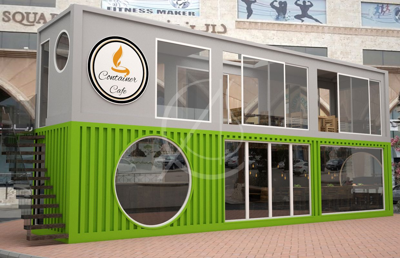 Cafe Container Design Jeddah Cas Container Cafe Shipping Container Cafe Container Design
