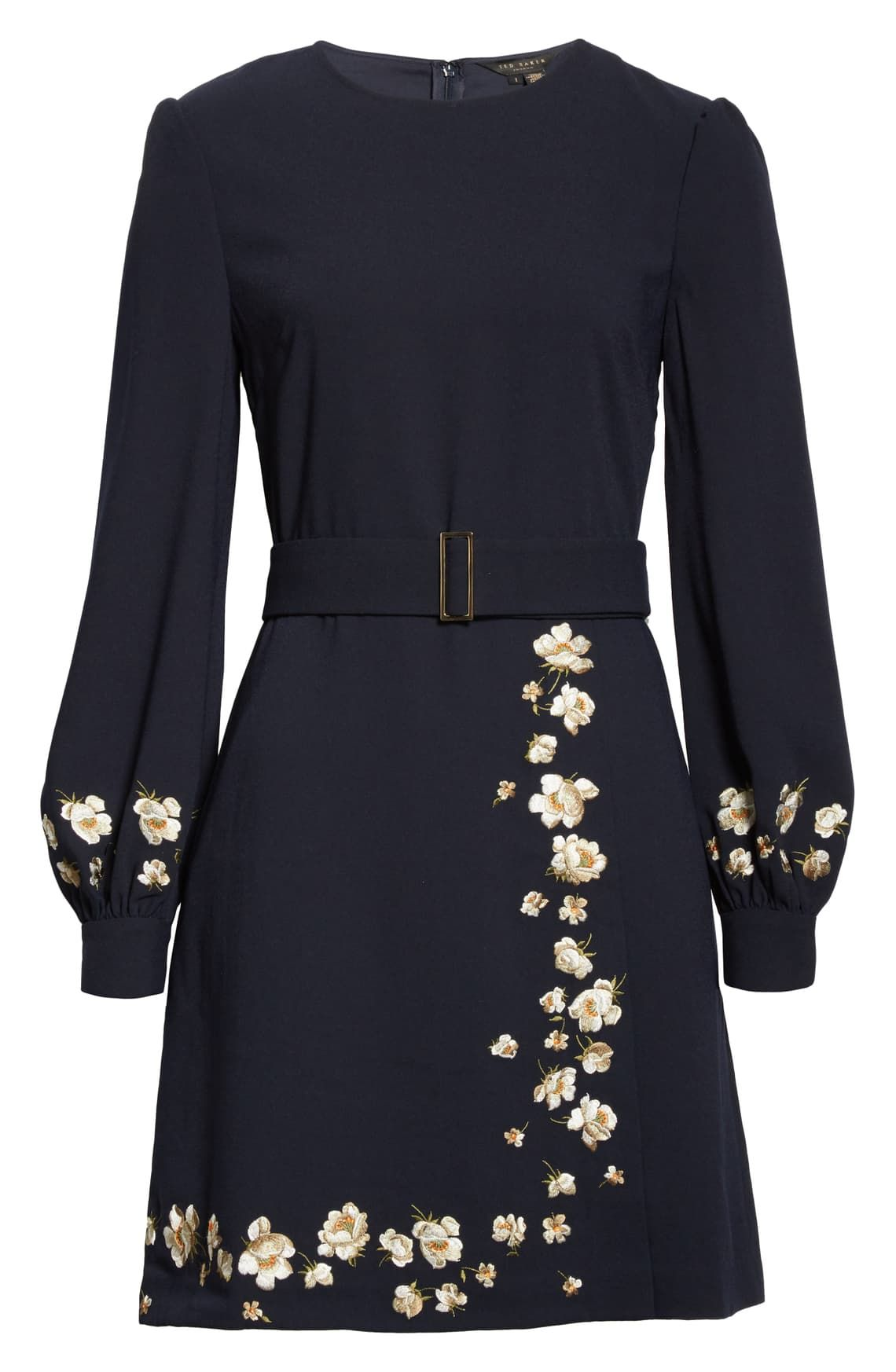 Ted Baker London Pearl Floral Long Sleeve Dress Nordstrom Long Sleeve Floral Dress Long Sleeve Dress Dresses [ 1746 x 1140 Pixel ]