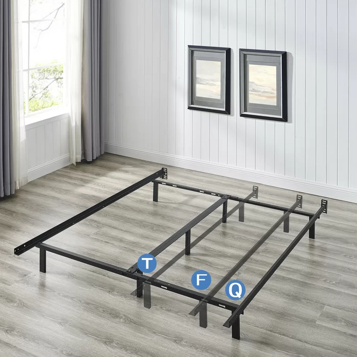 Braeden Heavy Duty Adjustable Size Bed Frame in 2020
