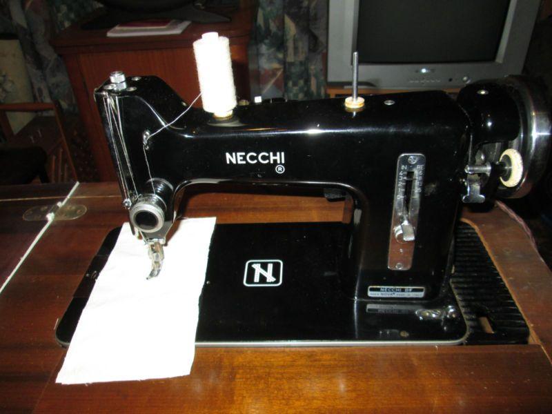 Vintage Necchi Sewing Machine BF Nova EBay Sewing Machines Impressive Ebay Com Sewing Machines