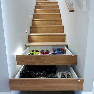 model tangga berfungsi sebagai tempat penyimpanan untuk