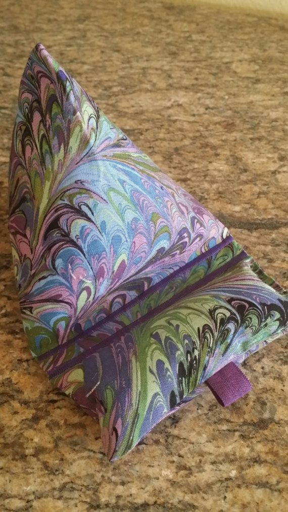 Gadget Bags-Artsy Collection Purple Spin by AuntKimmysCreations