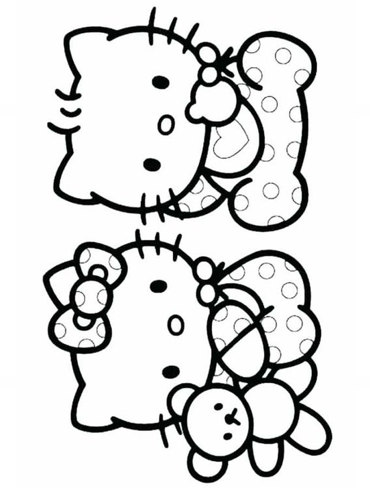 Hello Kitty Angel Coloring Pages When We First Heard Hello Kitty The First One That Occurred Hello Kitty Colouring Pages Kitty Coloring Hello Kitty Coloring
