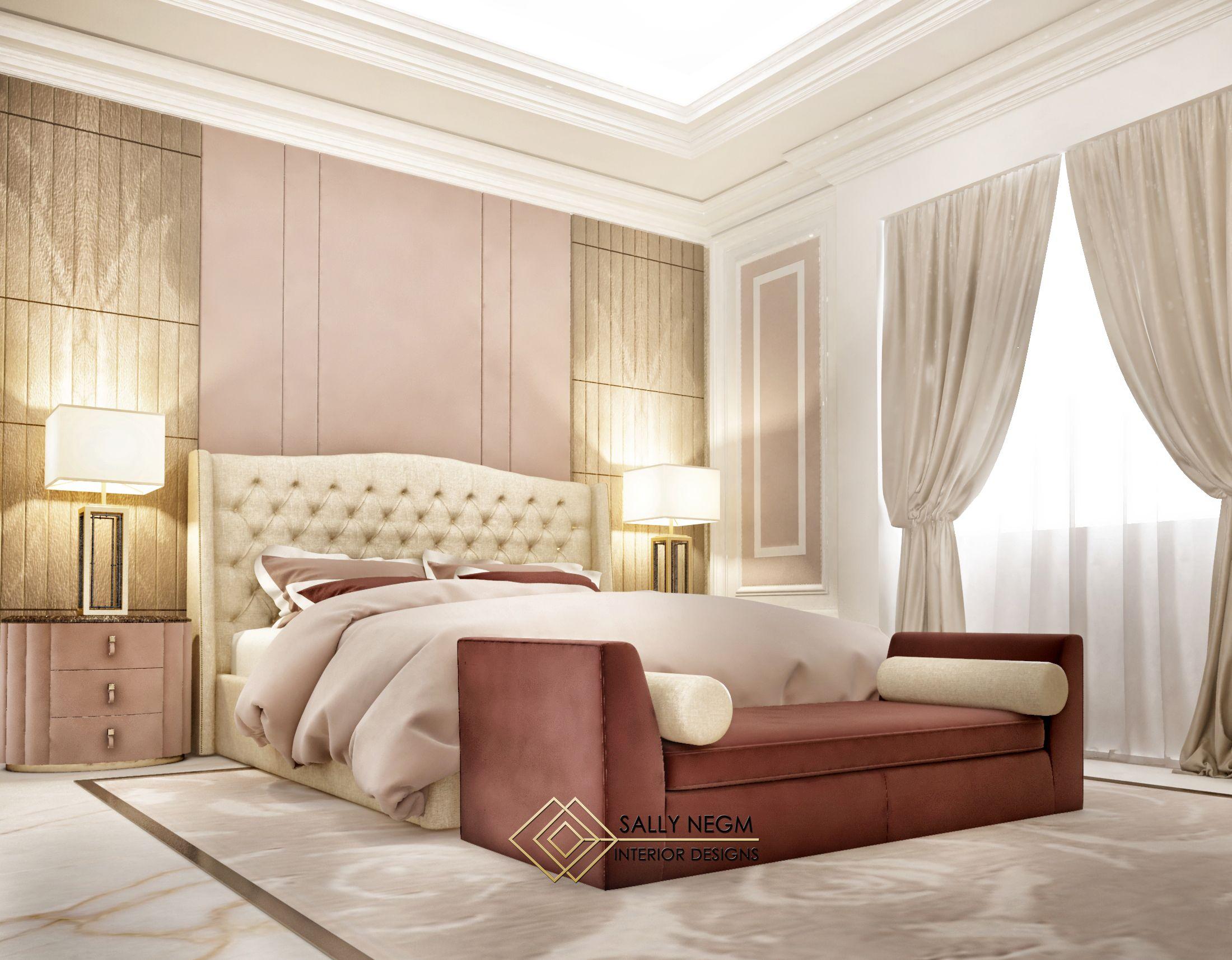 luxury modern master bedroom interior design in