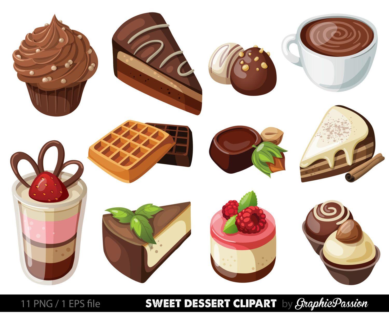 hight resolution of dessert clipart google search