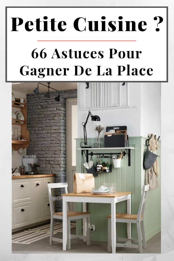 66 Astuces & Idées Rangement & Aménagement Petite Cuisine (avec images)   Idee rangement ...