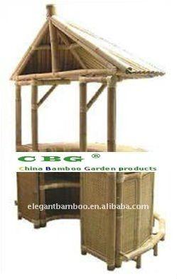 bamboo tiki bar with curved arc buy bamboo tiki bar outdoor bamboo
