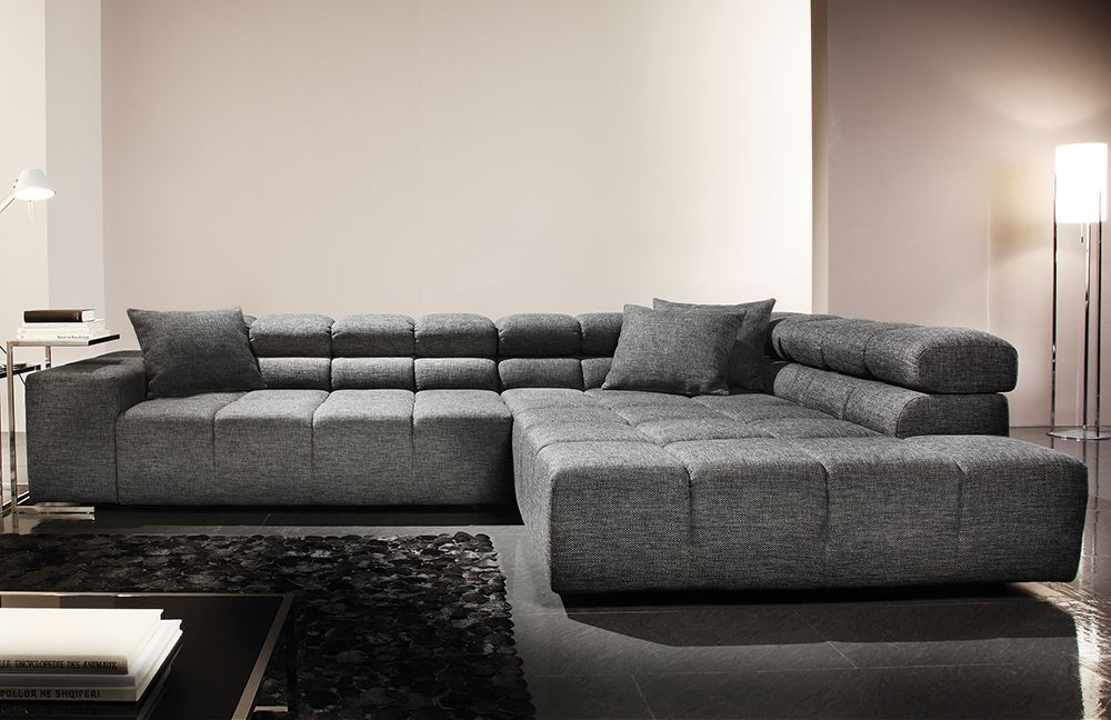Das Ecksofa Oregon Von Candy Polstermobel Beeindruckt Mit Einem Auffalligen Design In Der Rucken Und Sitzausfuhrung Couch Grau Wohnzimmer Wohnen Graue Mobel