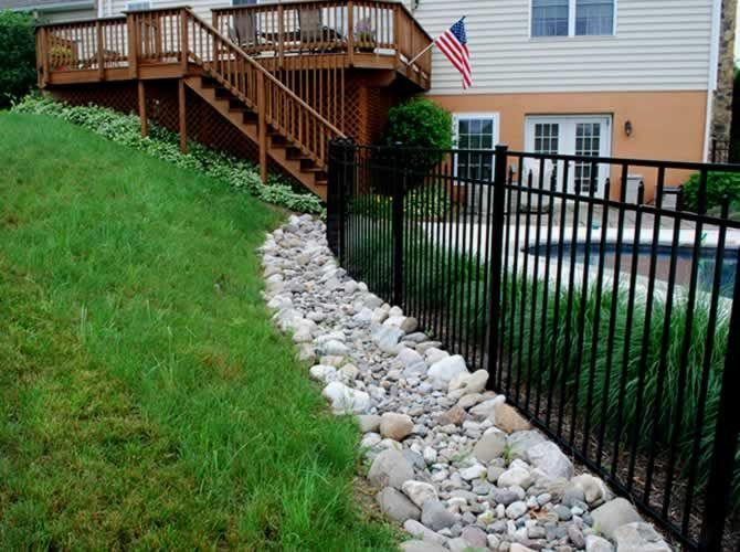 Drainage Solutions by stopping the water before it becomes ...