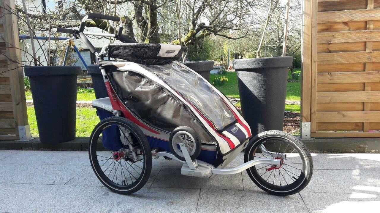 Thule Chariot Cx2 Viel Platz Fur 2 Kinder Und Jede Menge