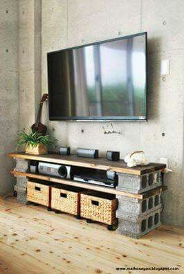 Arredamento Fai Da Te Low Cost.Mobile Tv Fai Da Te Low Cost Idee Di Interior Design