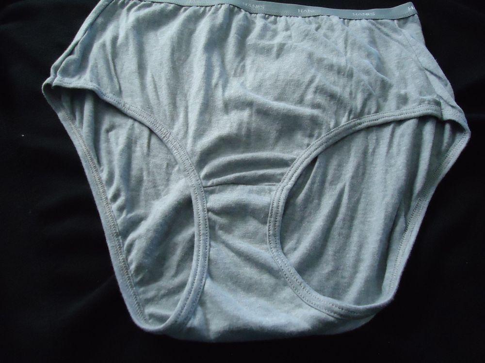 5f4ee4609ff0 Women (1) Pr. HANES Panties Sz 7 Light Gray Color Cotton/Polyester Material  #HANES #Breifs #Everyday