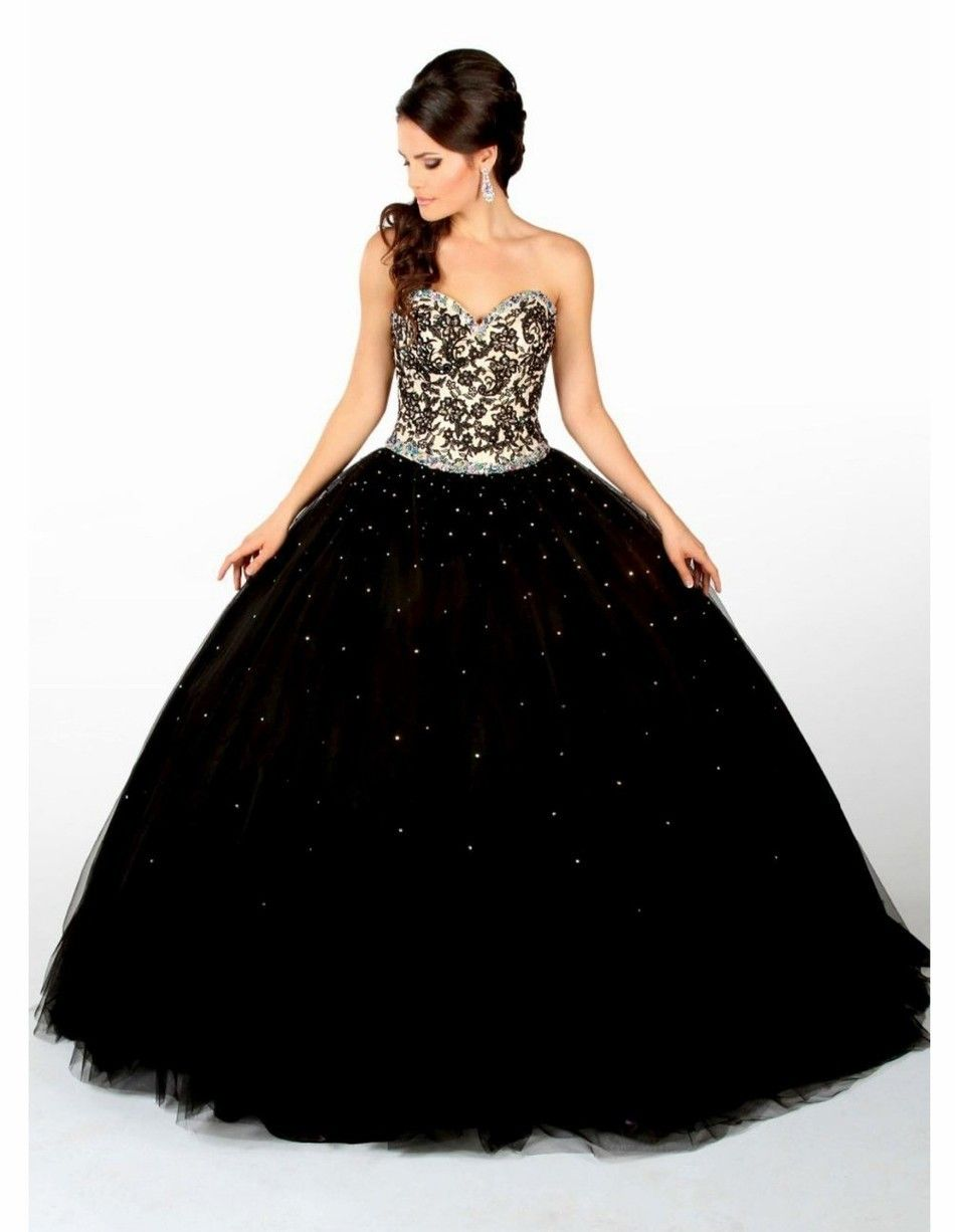 f5152349fab Party Dresses Quinceanera Dress Vestidos De 15 Anos Lace Puffy 2017 Black  Sweet 16 Gril masquerade