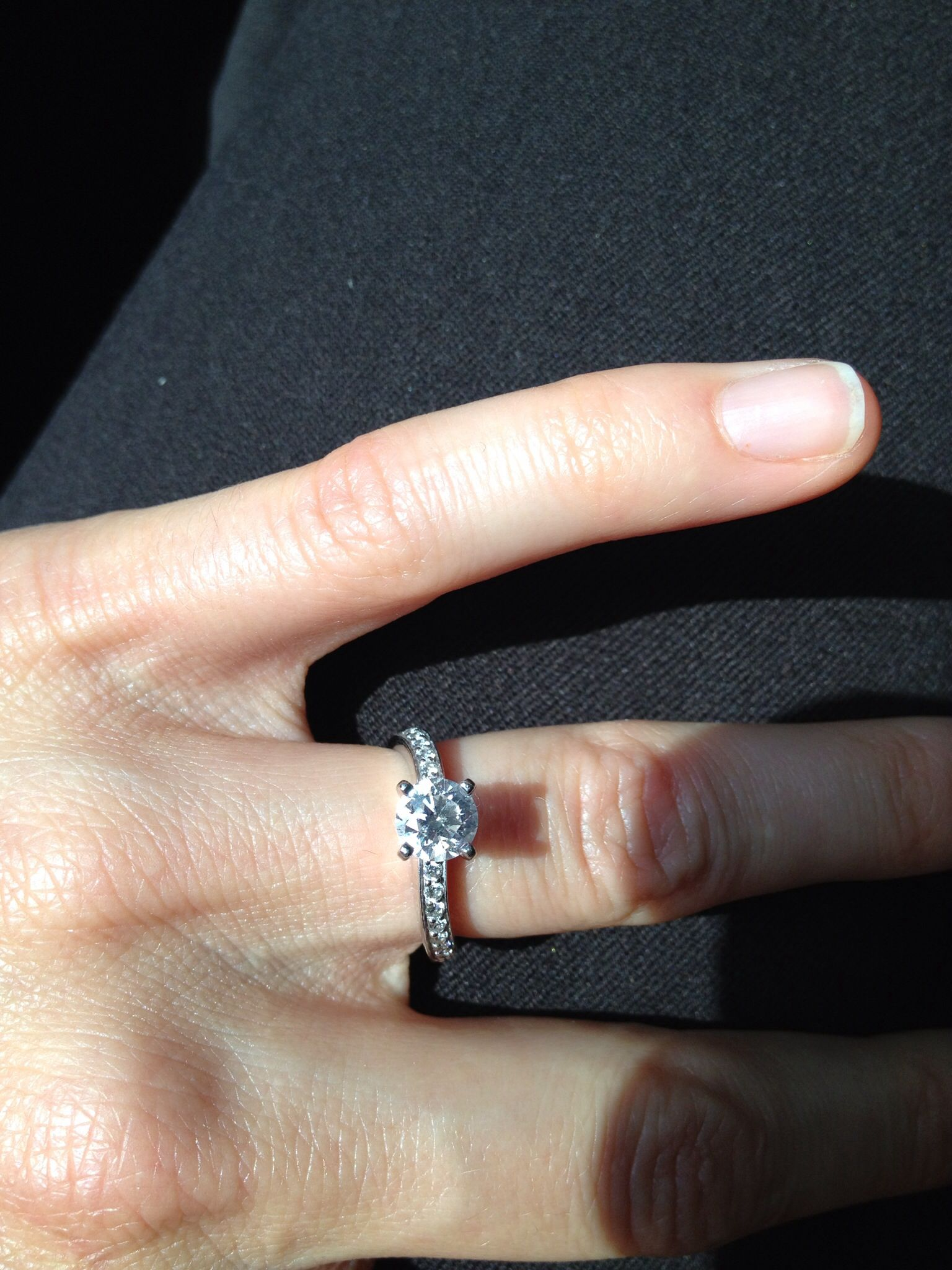Love my ring the day i say i do pinterest ring
