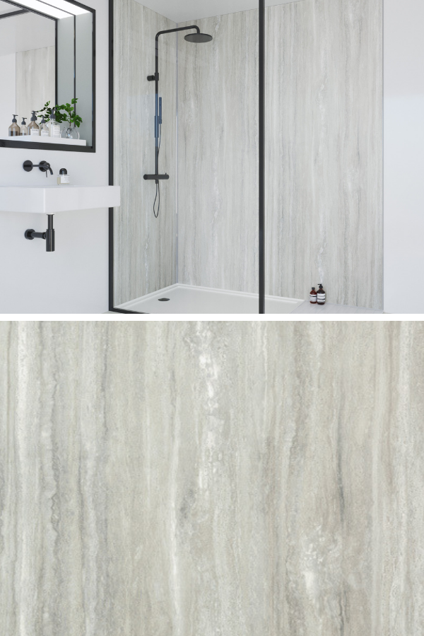 What Do You Think Of Jupiter Silver Our Real Wood Effect Decor From The Classic Collection Waterproof Wall Panels Bathroom Interior Design Bathroom Interior