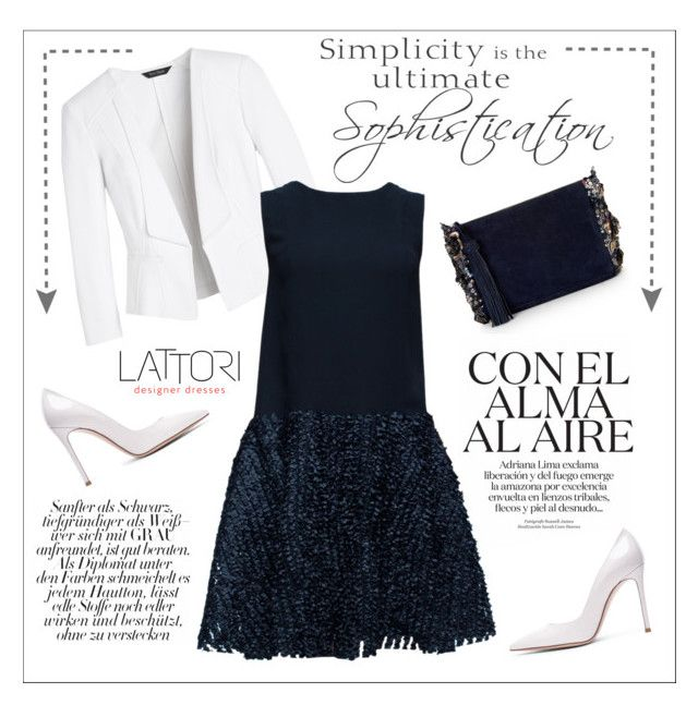 Lattori Dress By Water Polo Liked On Polyvore Featuring White House Black