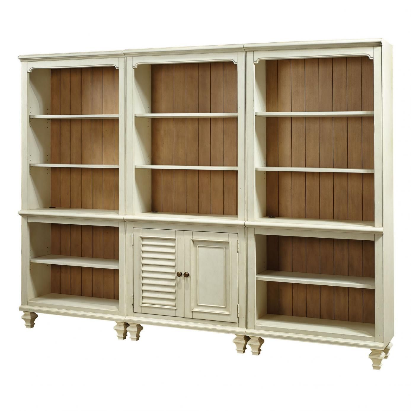 Shop Bookcase With Hutches at Johnny Janosik