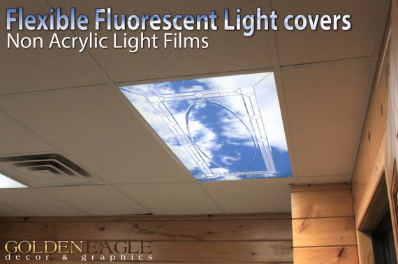Change the look of any fluorescent light fixture with our special ...