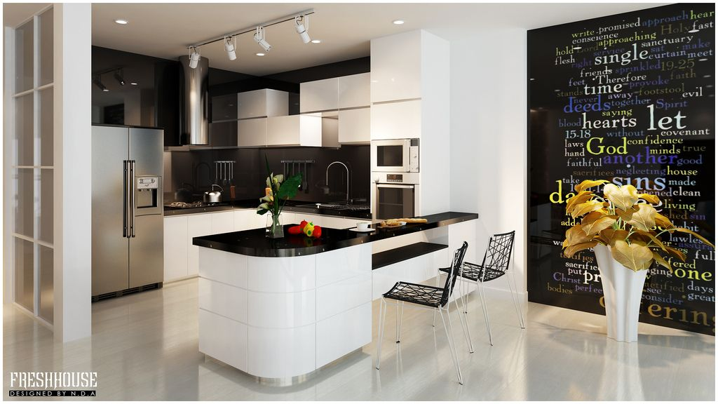 Awesome 30+ Modern White Kitchen Design Ideas And Inspiration
