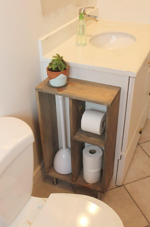 bathroom storage pedestal sink bathroom organization amazon rh pinterest com