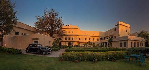 Sprawling greens and a subtle air of all embracing royal elegance... at Royal Heritage Haveli Jaipur...