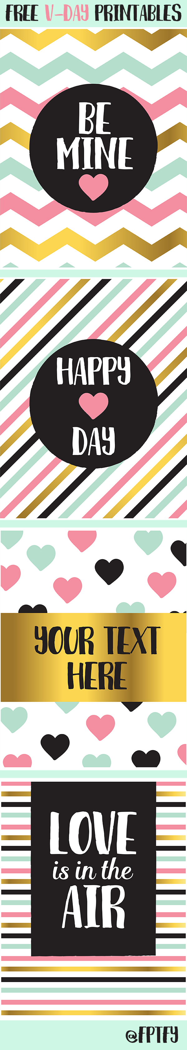 Today's freebies are fourlovely 8.5 x 11 Valentines Day images that can be resized to the perfect size you need them to be with any photo editing software! This color combo is one of my favorites because it just makes so happy when Isee it! Each page can be downloaded below: Be Mine   …