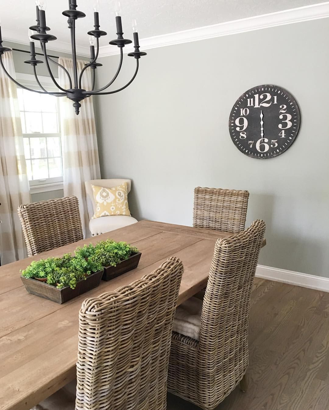 i love the large clock we have on the large wall in our dining room rh ar pinterest com