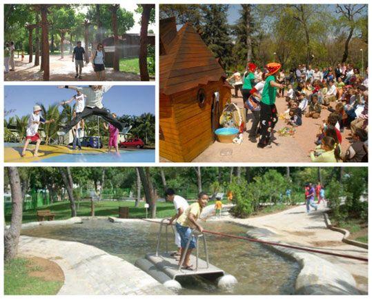 Los Parques Más Chulos De España Viajar Con Niños España Parques Parque España