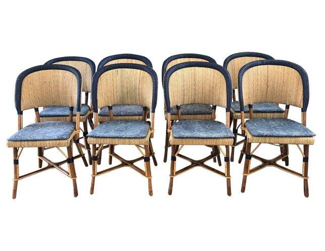maison drucker st lazare chairs in navy blue set of 8 in 2019 rh pinterest com