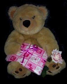 MICHELLE loves her Bear !