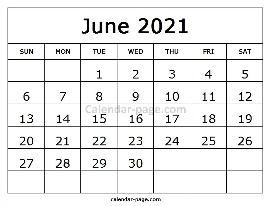 Print Blank Calendar 2021 June July Calendar Calendar Pages Editable Calendar