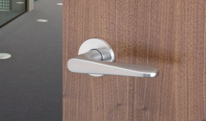 41144 Fsb Jasper Morrison Designed Lever Handles With Concealed Fixing Roses Griff Hof