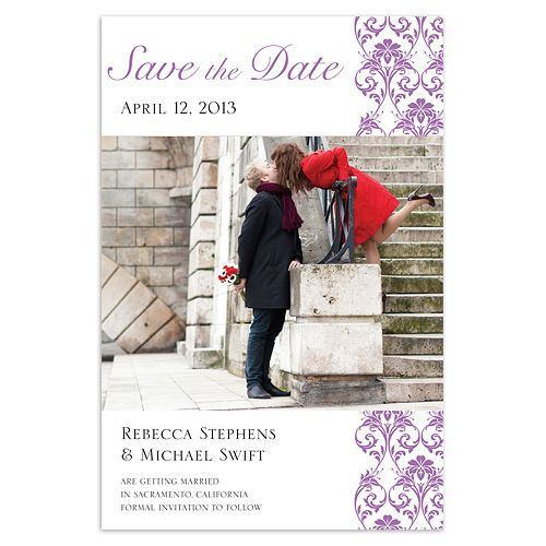 Simple Style Save The Date Cards
