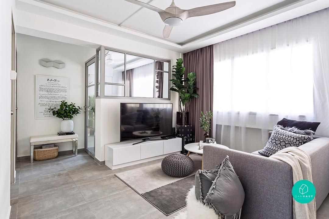 this once dingy resale is now our dream open plan hdb scandinavian rh pinterest cl
