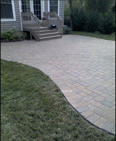13 best paver patio designs ideas home patio concrete patio rh pinterest com