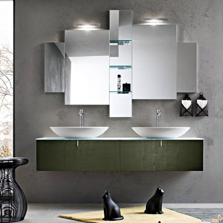 doppio lavandino bagno - Cerca con Google | LavandiniBagno ...