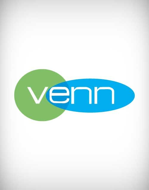 Venn Vector Logo Venn Logo Venn Venn Diagram Of Vector And
