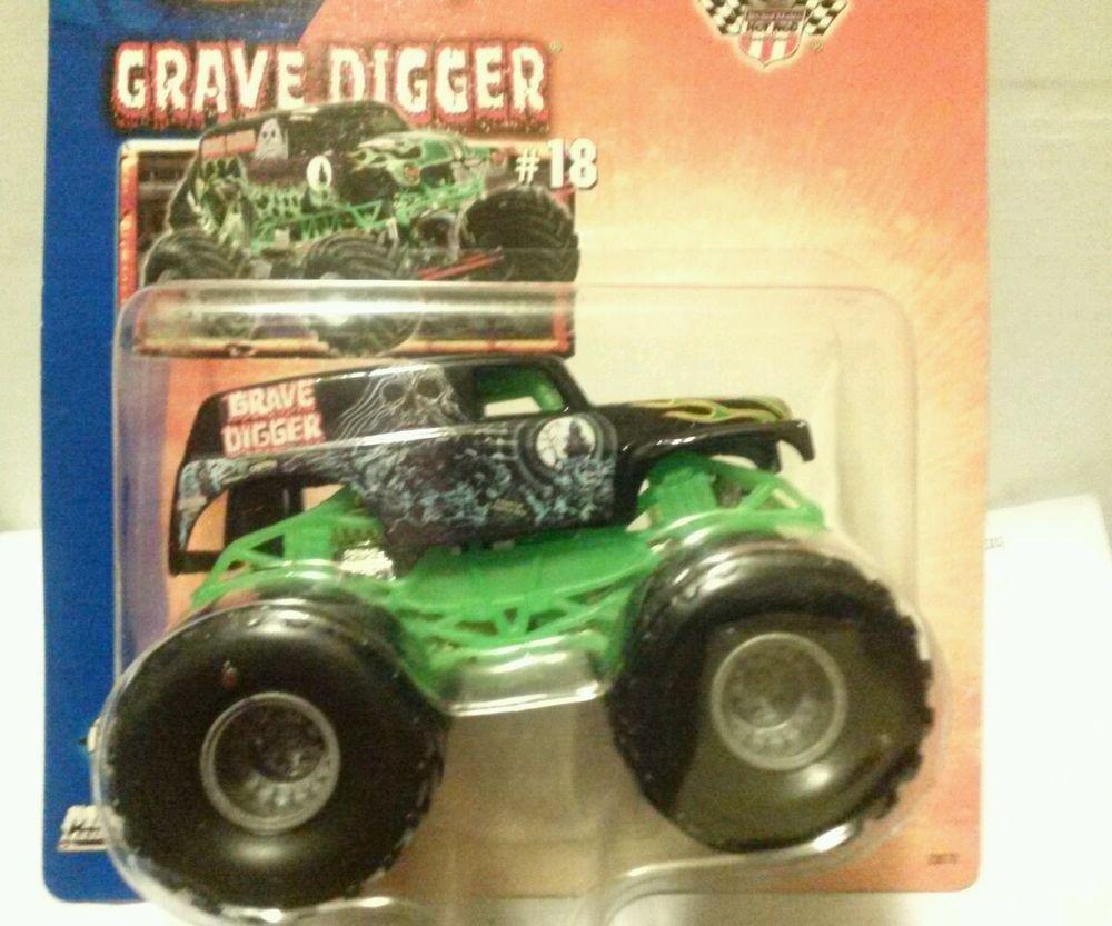 hot wheels monster jam monster truck 1 64 grave digger 18 metal rh pinterest com