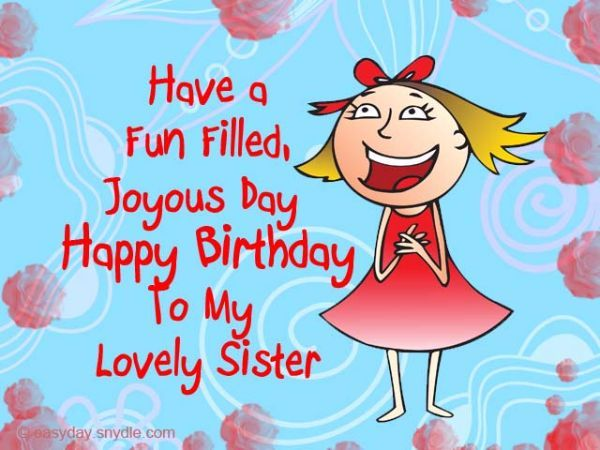 Image result for funny birthday wishes for sister