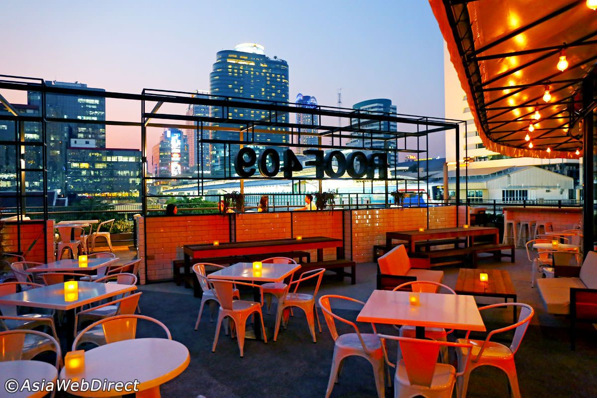 Roof 409 Bangkok Rooftop Bar At Mercury Ville Chidlom Rooftop Bar Rooftop Rooftop Patio
