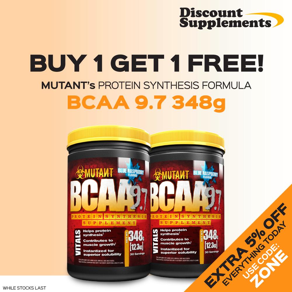 Mutant BCAA 9.7 348g Fun workouts, Gain muscle, Muscle