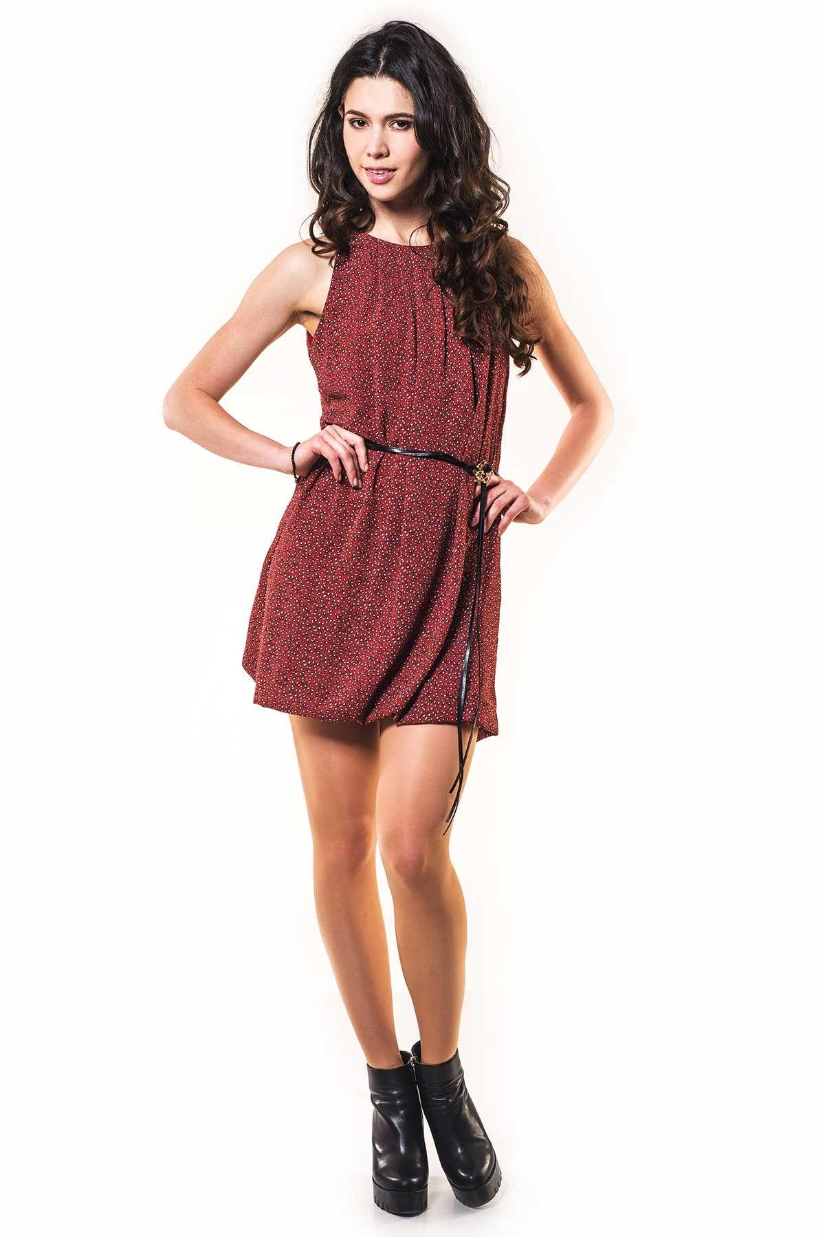 Платье женское Savage арт. 615537 цвет cherry купить в Минске в интернет-магазине - afashion.by