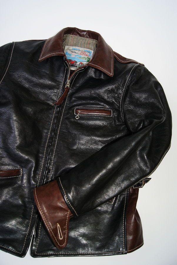 Image 688 Of 1124 In Forum Thread Insurrection Thurston Bros Aero Leather Jackets North America Official Leather Jacket Leather Wear Leather Jacket Men
