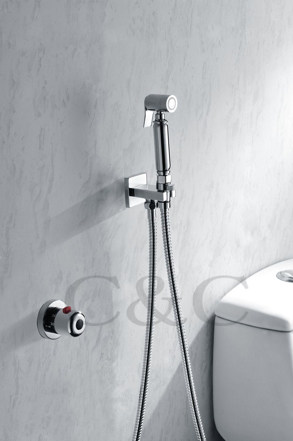 Nastennyj Ruchnoj Shattaf Bide Tualet Sprej Dush 150 Sm Iz Nerzhaveyushej Stali Shlang S Termostaticheskij Sme Bidet Faucets Bath Shower Mixer Taps Shower Faucet Sets