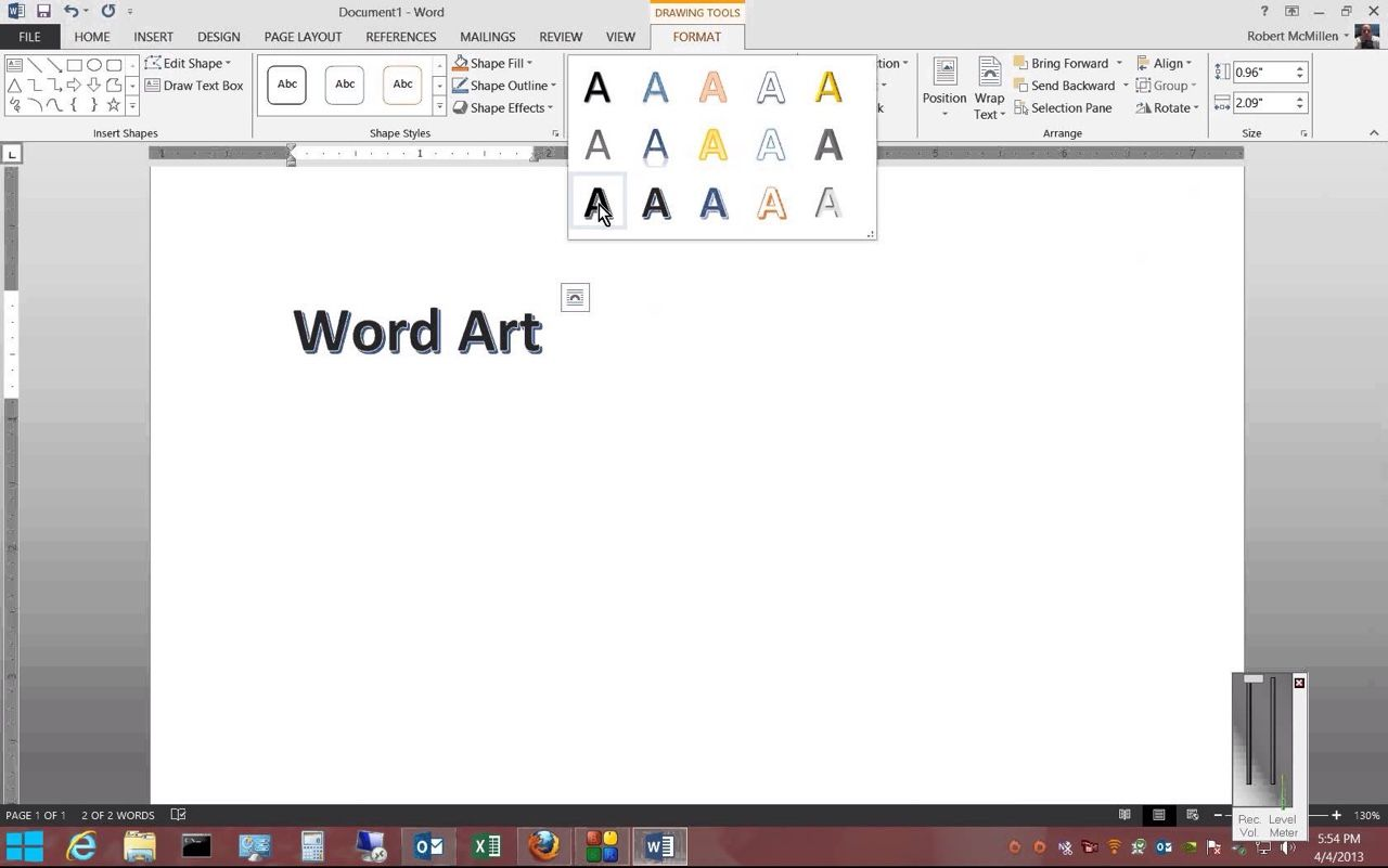 LEGAL TEST READY Removing Word Art Styles From Text In PowerPoint