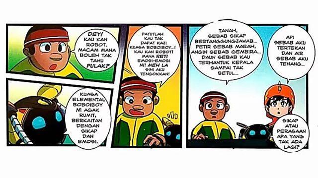 Gelora Kuasa Part 1 Tau Ramai Je Kan Yg Dah Baca Komik Ni Takpe Kita Tb K Credit To Monsta Official Boboiboygala Komik Membaca Film Petualangan
