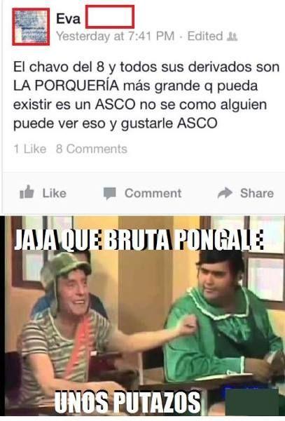El Chavo Del Ocho Es Una Porqueria Que Bruta Jpg 407 600 Funny Quotes Funny Baseball Cards