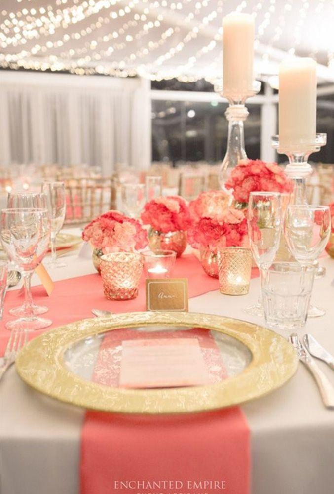 33 Coral Wedding Decorations Ideas   Wedding Forward