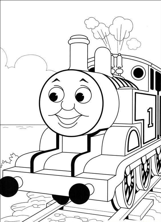 Photos Thomas Coloring Pages | Print | Pinterest