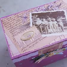 Memory boxes are a great project when you have the time